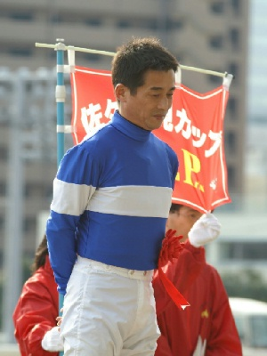 090127佐々木竹見カップ1-菅原勲騎手.jpg