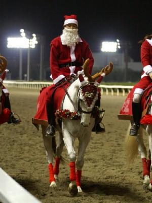 川崎競馬の誘導馬 12月クリスマス 重賞Ver 6