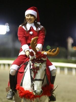 川崎競馬の誘導馬 12月クリスマス 重賞Ver 7