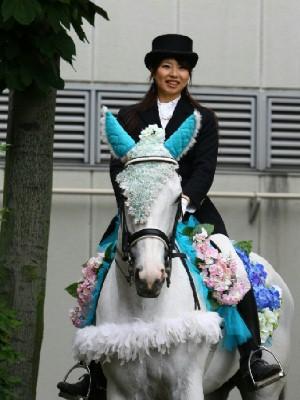 川崎競馬の誘導馬 6月開催 紫陽花Ver トーチくん 2