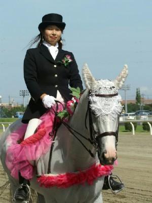 川崎競馬の誘導馬 7月前半開催 朝顔Ver トーチくん1