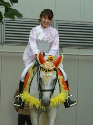 川崎競馬の誘導馬 8月開催 ユーちゃん 1