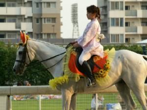 川崎競馬の誘導馬 8月開催 ユーちゃん 2